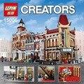 LEPIN 15006 2354 unids Palacio Cine Modelo Building Blocks Establece Ladrillos Juguetes Compatible 10232 Juguetes Para Los Niños