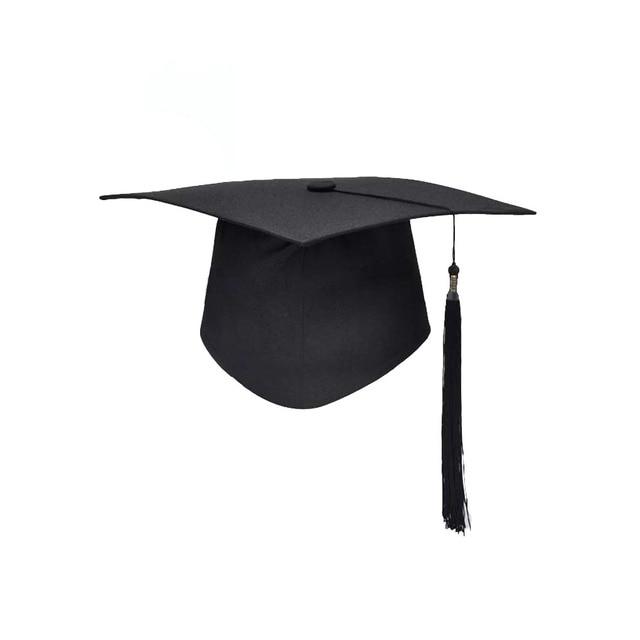 School Graduation Party Tassels Cap Mortarboard University Bachelors Master  Doctor Academic Hat 91ce2832154