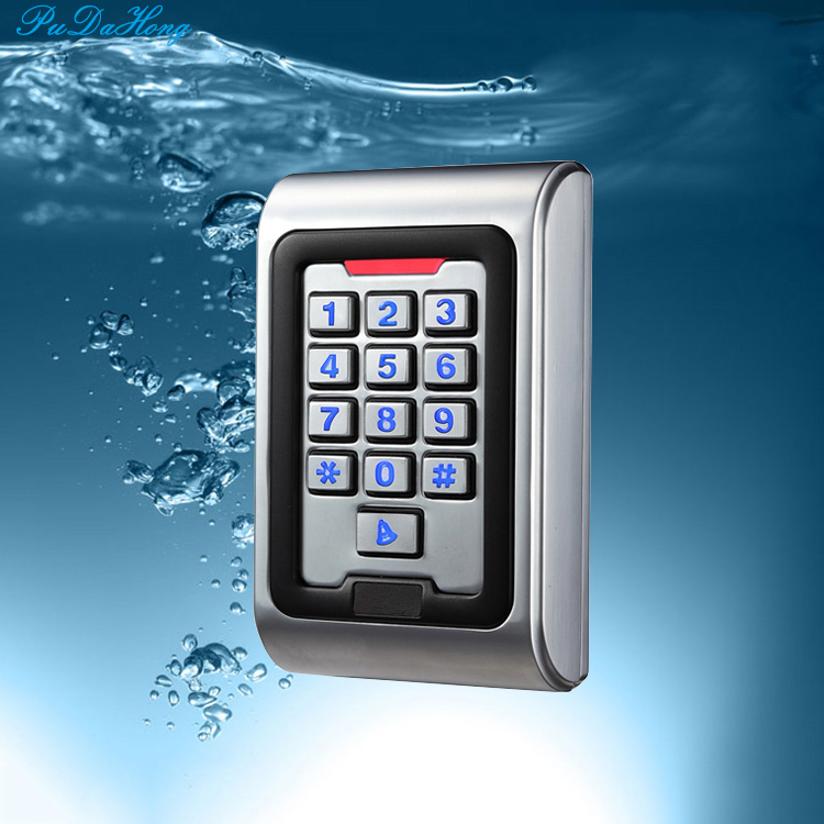 RFID Keypad Access Control Waterproof IP68 Metal Case 125KHZ ID S500 read head with Wiegand 26 outputRFID Keypad Access Control Waterproof IP68 Metal Case 125KHZ ID S500 read head with Wiegand 26 output
