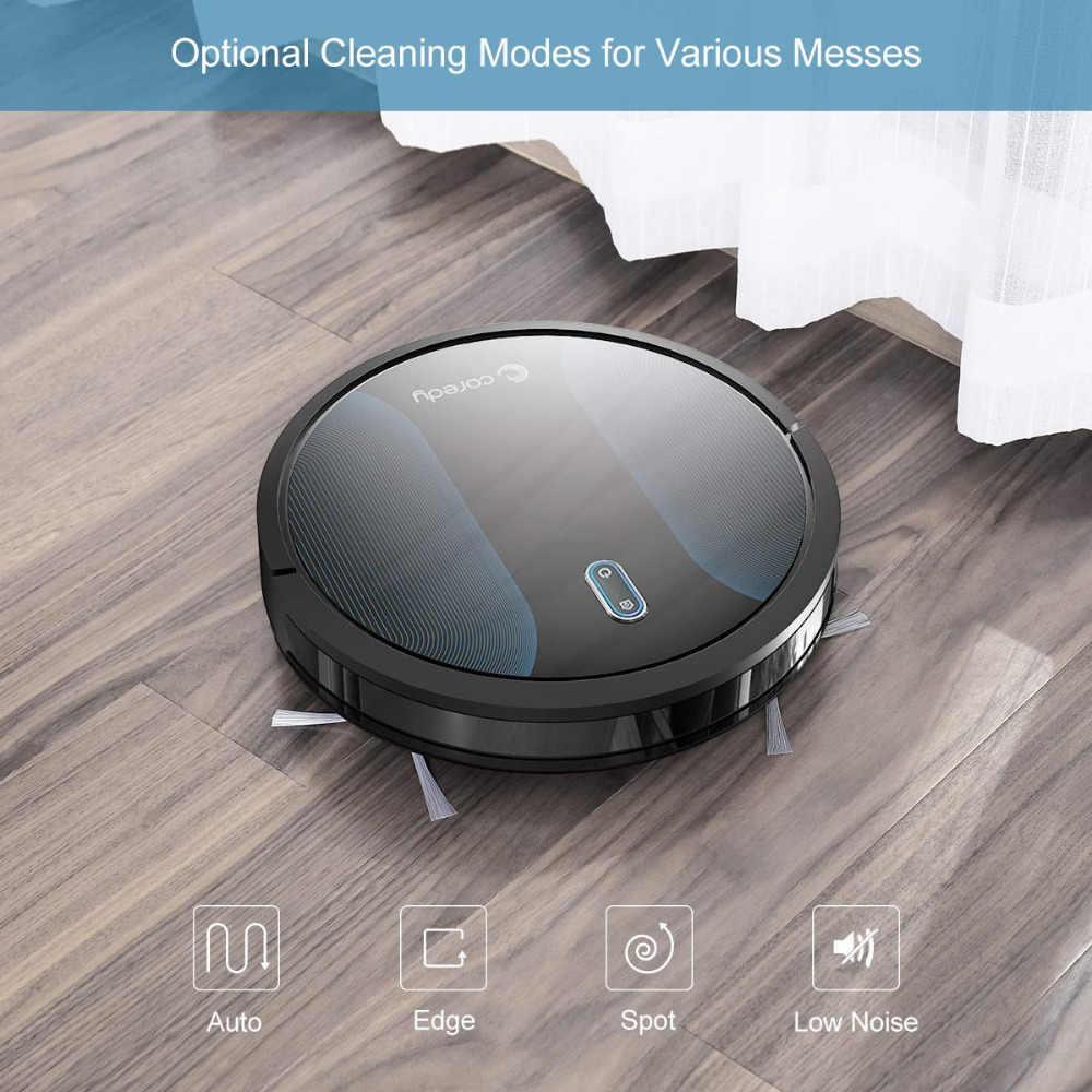 Coredy R500+ 1400PA чистый робот пылесос автоматический пылезащитный напольный ковер Чистка умный влажный Швабра развертки Роботизированный пылесос для дома