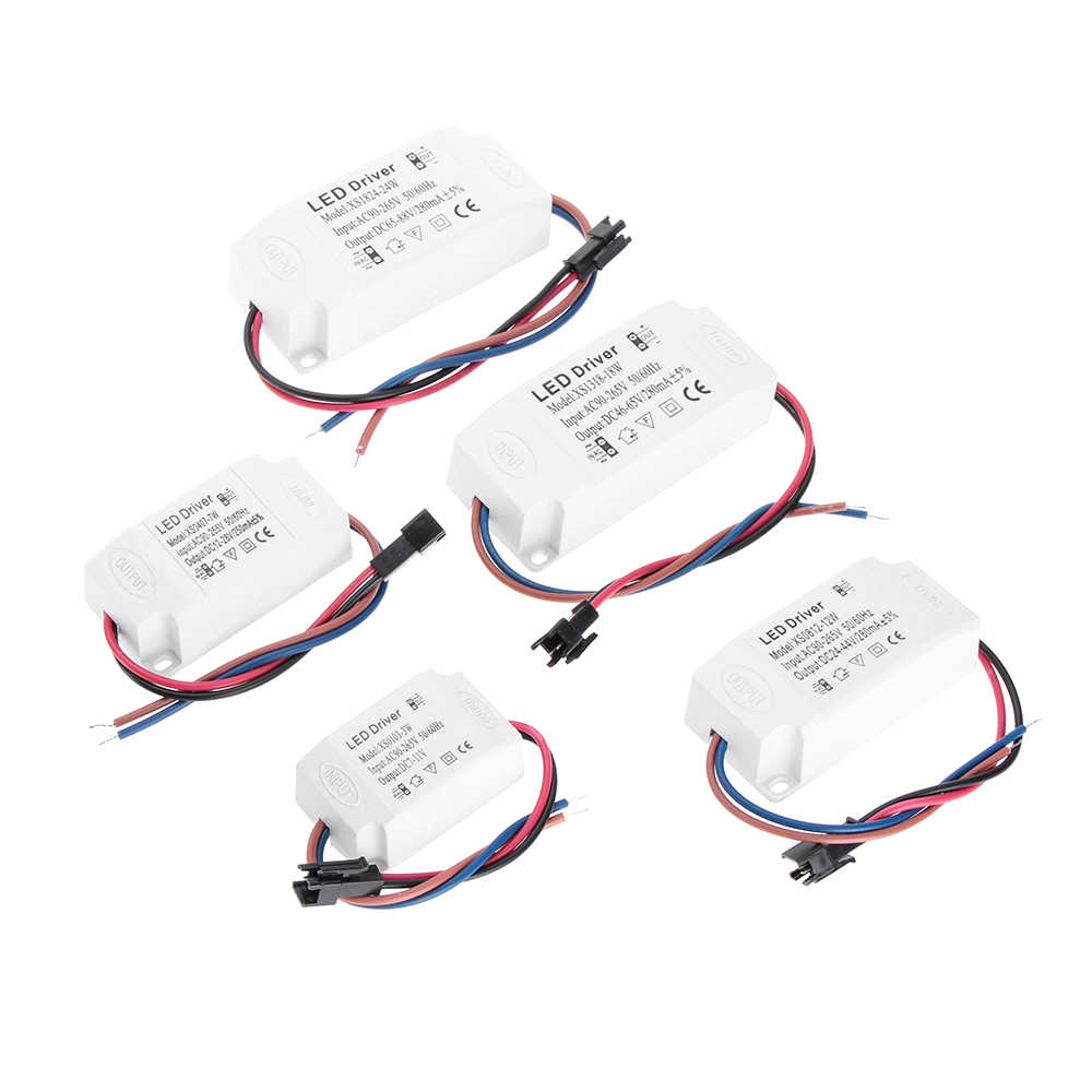 small resolution of ac 85 265v led driver 3 24w power supply constant current transformer adapter switch