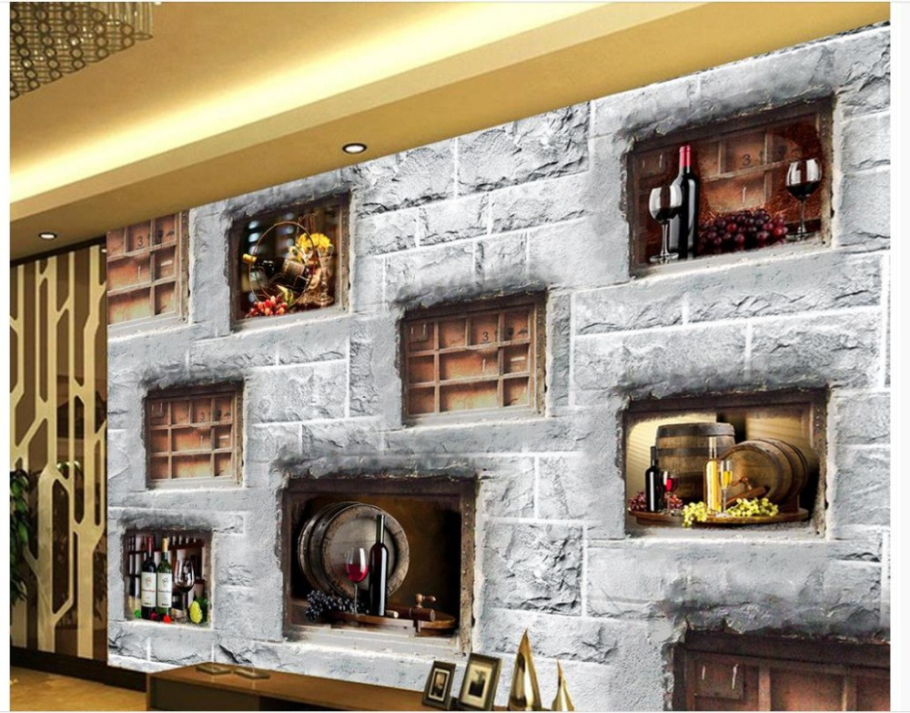Wallpapers For Living Room Modern Bar Cafe 3d Wall Murals Wallpaper  Painting Wallpaper Home Decoration