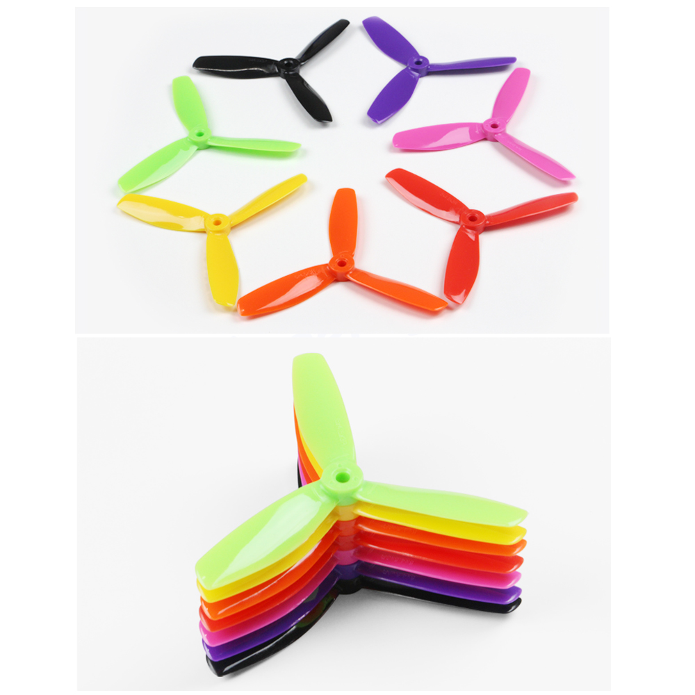 20pcs/lot KINGKONG 5040 5045 5050 3 blades Propellers For QAV250 ZMR250 Robocat FPV Mini Quadcopter Multirotor (10CW+10CCW) high quality 14pcs lot kingkong 5040 5045 5050 3 blade single color cw ccw propellers for fpv racer rc multicopter spare parts