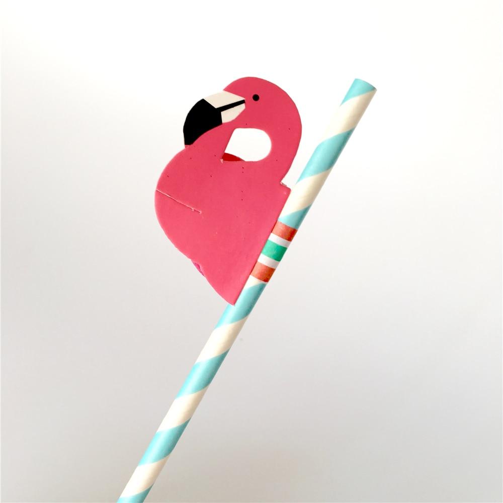 Flamingo Party Straws 10Pcs/set Reusable Plastic Straws Party Diy Decorations Paper Straws Wedding Table Decoration Supplies,9 15