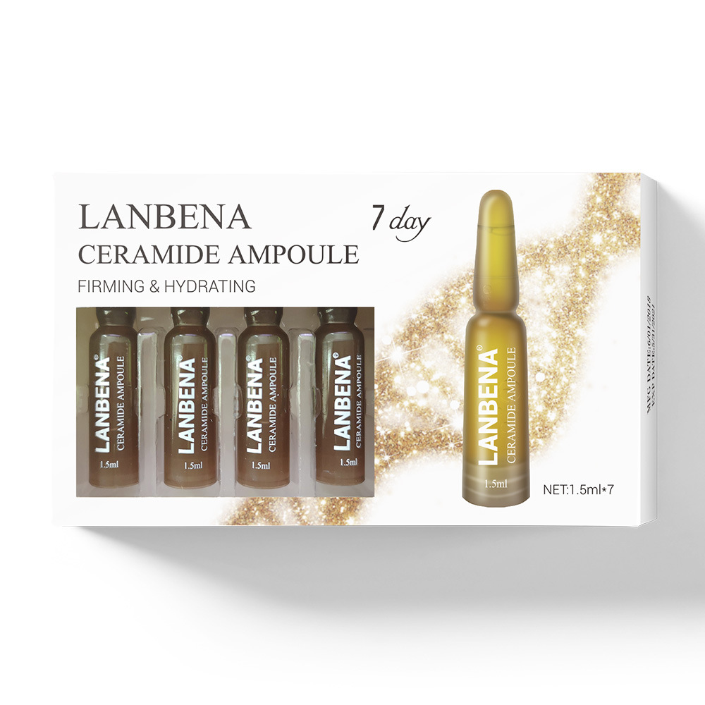 LANBENA New 7 pieces Ceramide Bulb Serum deep wrinkles Anti-aging face Essence liquid serum lifting nourishing skin care  TSLM1(China)