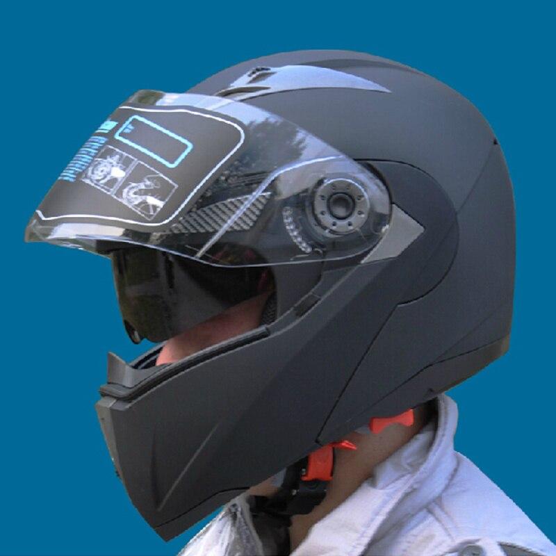 JIEKAI Flip up Motorcycle Helmets Men Dual Visor Double Lens Racing Women Motor Cycling Motorbike Moto