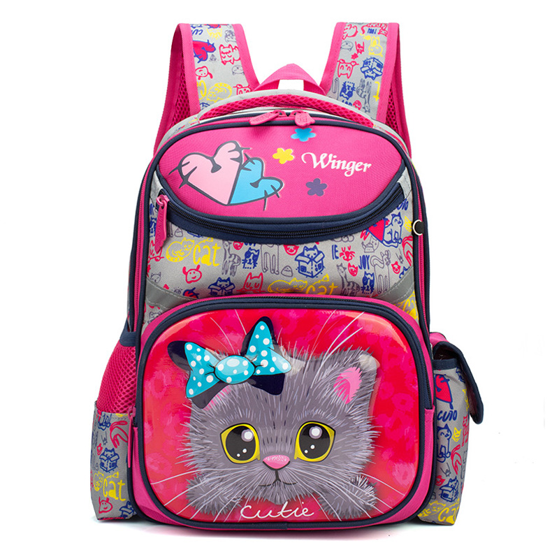 BIG SALE] Delune Children Cartoon School Bag Kids EVA