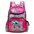 Школьные сумки с рисунками для девочек и мальчиков  Детские ортопедические рюкзаки с рисунком кота и медведя  школьная книга  рюкзак для дет...