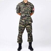 Chúng tôi Army chiến tranh Việt Nam Tiger Stripe Camo Đức quân đội sa mạc camo BDU quần áo Uniform