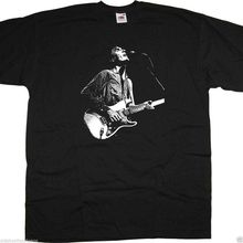 89850736e David Byrne On Stage Photo With Talking Heads T Shirt New Wave Punk(China)