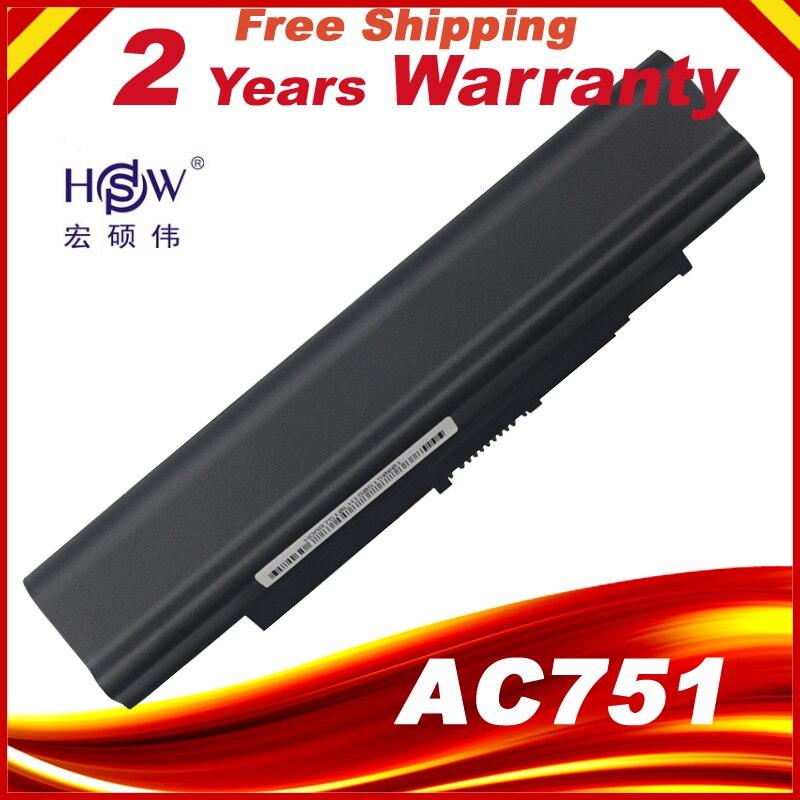 A HSW 5200 MAH Da Bateria Do Portátil Para Acer Aspire one 531 531 h 751 AO751h ZA8 ZG8 ZA3 UM09A71 UM09A73 UM09A41 UM09B41 UM09B44 UM09A75