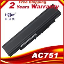 HSW 5200มิลลิแอมป์ชั่วโมงแล็ปท็อปแบตเตอรี่สำหรับAcer Aspire one 531 531 h 751 ZA3 ZA8 ZG8 AO751h UM09A73 UM09A41 UM09B41 UM09B44 UM09A71 UM09A75