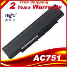 HSW 5200MAH Laptop Battery For Acer Aspire one 531 531h 751 ZA3 ZA8 ZG8 AO751h UM09A73 UM09A41 UM09B41 UM09B44 UM09A71 UM09A75