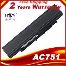 HSW Batería de 5200MAH para ordenador portátil Acer Aspire one 531 531h 751 ZA3 ZA8 ZG8 AO751h UM09A73 UM09A41 UM09B41 UM09B44 UM09A71 UM09A75