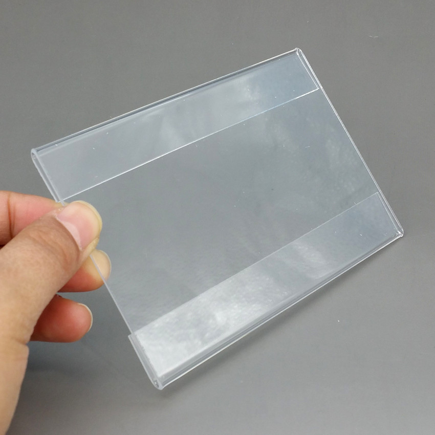 Acrylic T1.2mm Plastic Sign Price Tag Label Display Paper