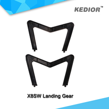 Free shipping rc quadcopter X8SW Landing Gear accessories remote control helicopter drones parts black color