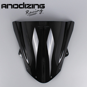 Image 1 - שמשה קדמית שמשה קדמית בועה כפולה עבור Kawasaki ZX6R ZX 6R 2009 2016 ZX10R ZX 10R 2008 2010