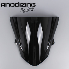 Windschutzscheibe Windschutz Double Bubble für Kawasaki ZX6R ZX 6R 2009 2016 ZX10R ZX 10R 2008 2010