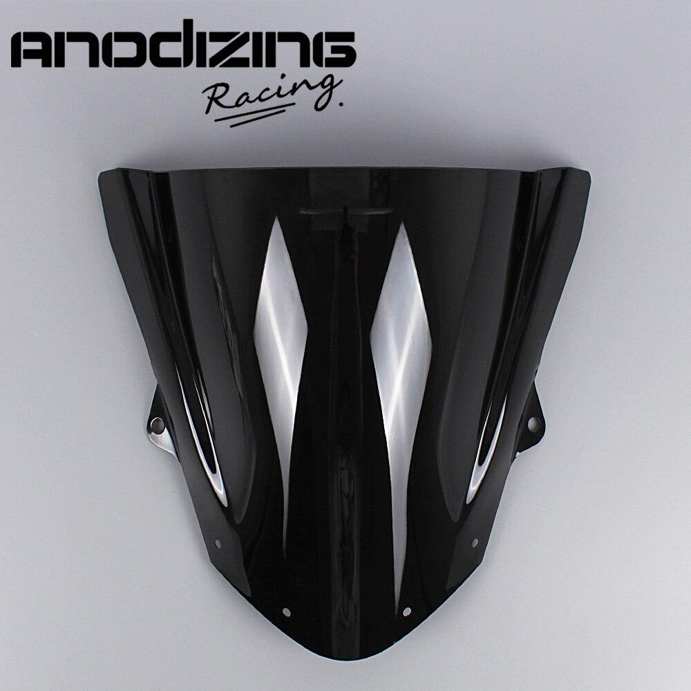 Windshield WindScreen Double Bubble For Kawasaki ZX6R ZX-6R 2009-2016 ZX10R ZX-10R 2008-2010