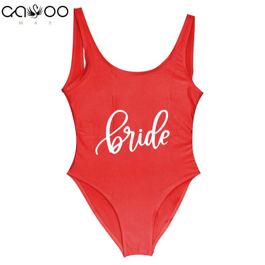 068b764424f Beachwear BRIDE Swimwear Women One Piece Swimsuit Bathing Suit Maillots de  bain femmes Sexy Bodysuit Monokini