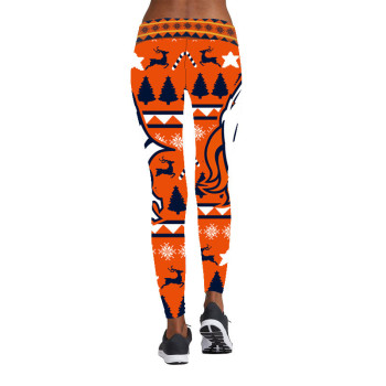 Unisex Football Team Broncos Print Tight Pants Workout Gym Training Running Yoga Sport Fitness Exercise Leggings Dropshipping 1