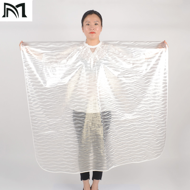 3Color Soft Lightweight EVA Salon Wrap Water-repellent Cape Modeling auxiliary tool Hairdressing customer protection equipment