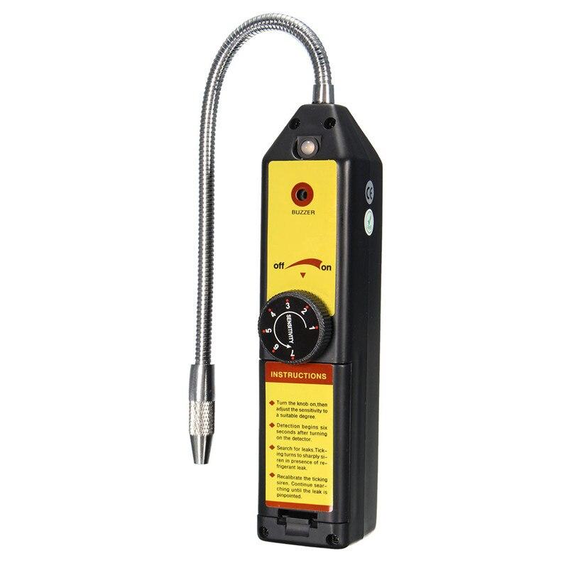 1pcs Halogen Gas Analyzers HFC CFC Refrigerant Leak Detector R22 R134A WJL Cost-effective