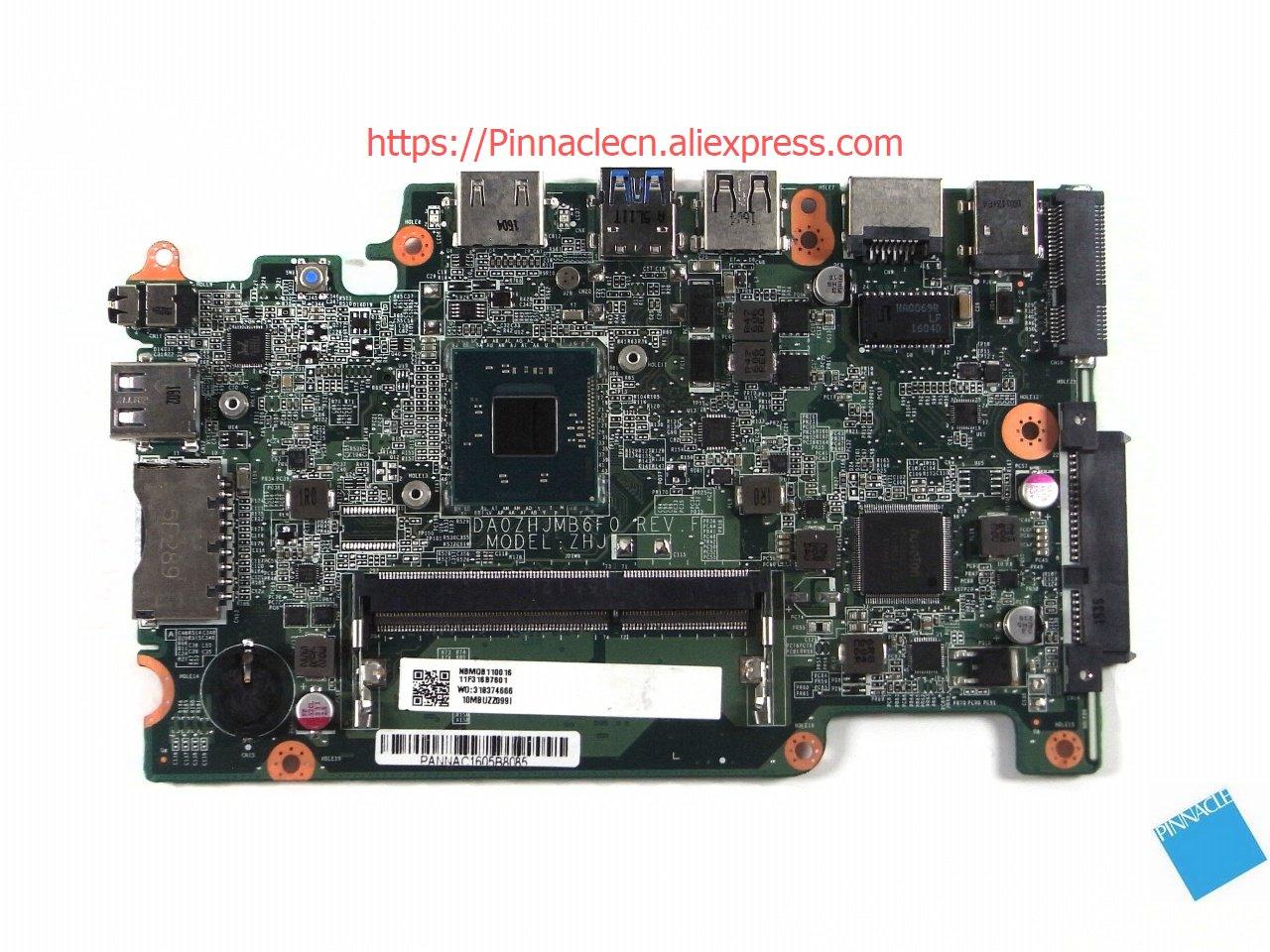 NBMQB11001 Motherboard for Acer Aspire E3-111 TravelMate B115-M B115-MP DA0ZHJMB6F0 ZHJ kingsener new ac14b18j battery for acer aspire e3 111 e3 112 e3 112m es1 511 v3 111p cb3 531 travelmate b115 m b115 mp ac14b8k