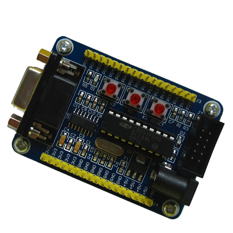цена на C8051F330 core board development board learning board experimental board C8051F microcontroller minimum system