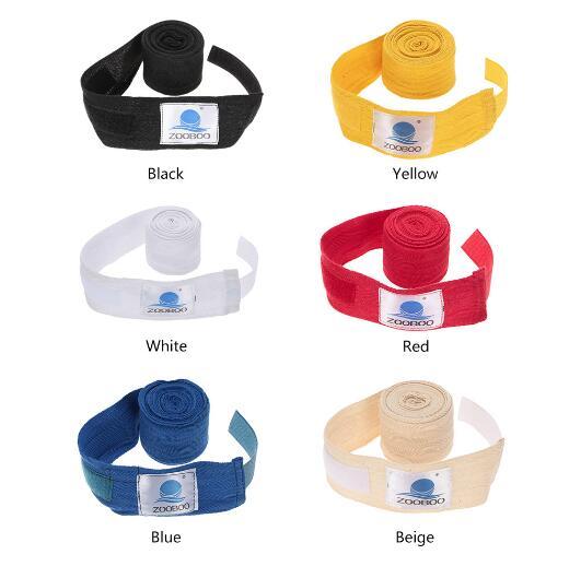 Bandage Hand-Gloves Kick-Boxing Wraps Taekwondo Muay-Thai Sports-Sanda 3M 2pcs/Pack Cotton