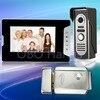 New 7 Wired Color Video Door Phone Intercom Doorbell System Kit Set With IR Outdoor Camera