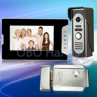 New 7 Wired Color Video Door Phone Intercom Doorbell System Kit Set With IR Outdoor Camera