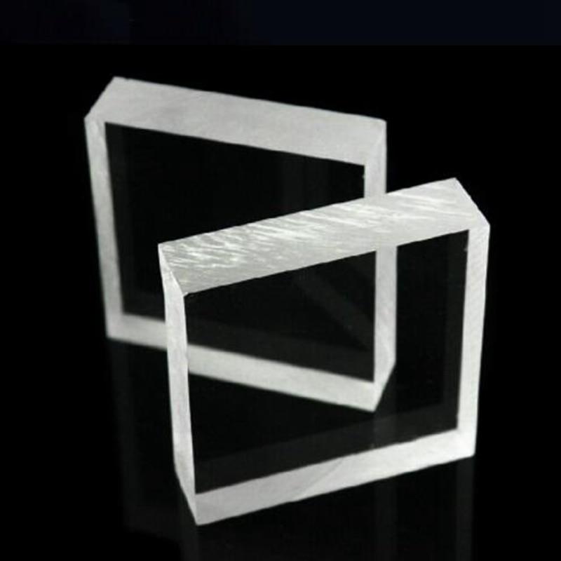 3x100x100mm 2pcs Acrylic Sheet (PMMA) Plexiglass Opaque/Solid Sheets