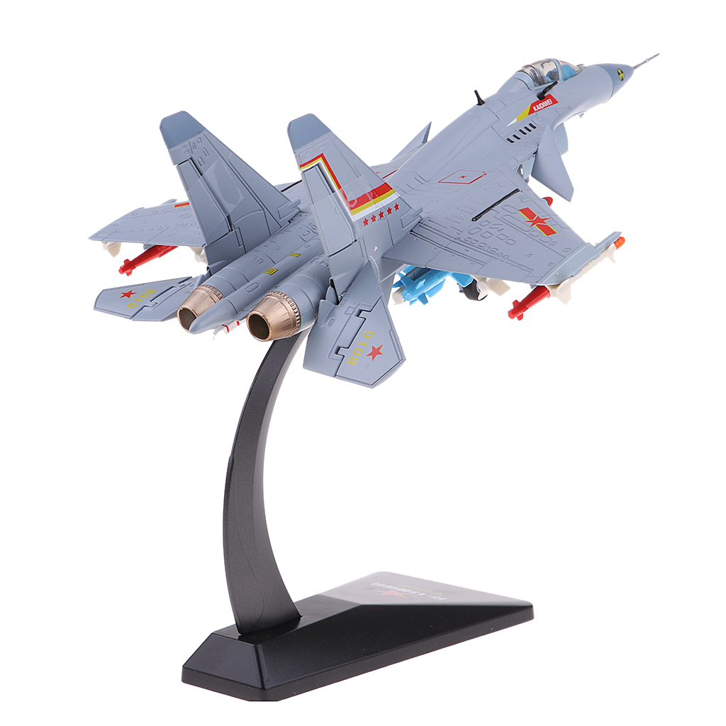 1 72 Scale Alloy Airplane Model J15 Chinese Carrier Aircraft Military Fighter Diecast Plane Model Toys