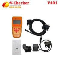Бесплатная доставка V CHECKER V401 для диагностический инструмент для BMW английская версия VCHECKER OBD2 V проверки считыватель кода для бортовой диагн