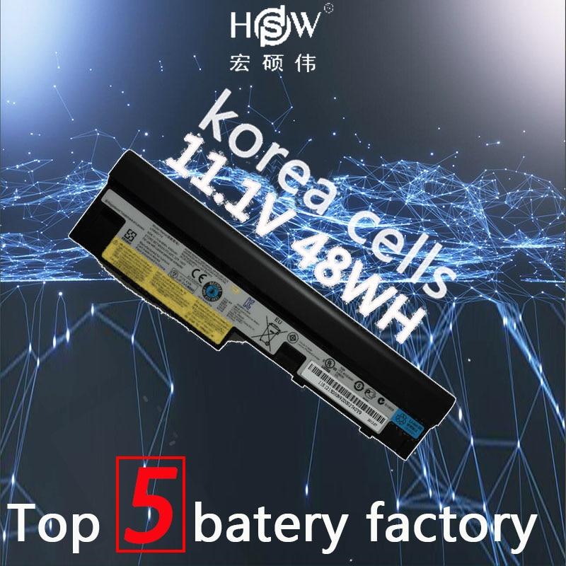 HSW 11.1V 48WH 6cells laptop battery for Lenovo IdeaPad S100 S10-3 S205 S110 U160 S100c S205s U165 L09S6Y14 L09M6Y14 bateria akk