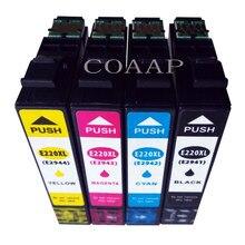 4x Compatível cartucho de tinta para WorkForce XP-420 XP-320 WF-2630 T2945 T2941-T2944 WF-2650 WF-2660 Impressora