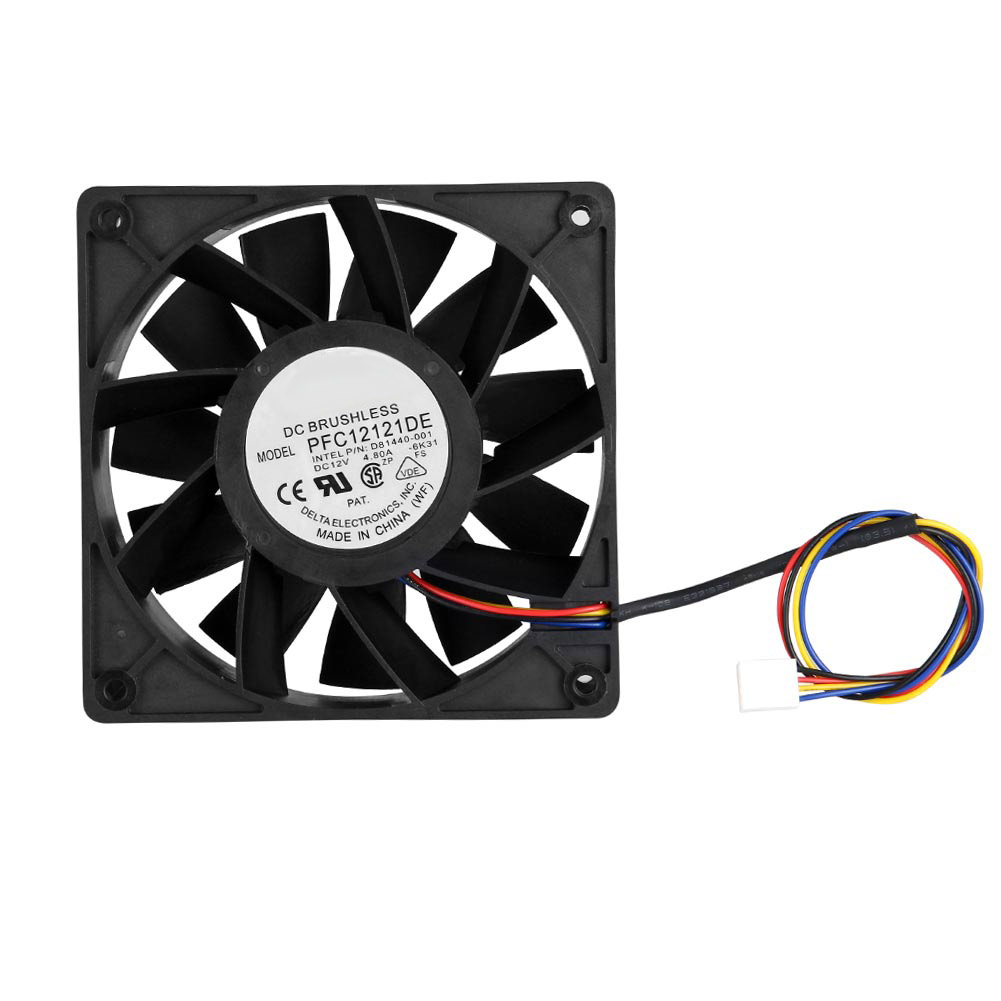 5000RPM Cooling Fan Replacement 4-pin Connector for <font><b>Antminer</b></font> <font><b>Bitmain</b></font> <font><b>S7</b></font> S9 ND998 image