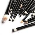 20 Unids Cepillos Cosmético del Cepillo de Sombra de Ojos Profesional Para Polvo Sets Lápiz Maquillaje Cepillos Maquiagen Pinceles de Maquillaje