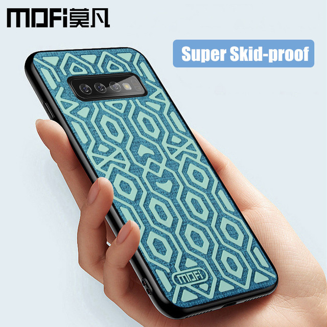 MOFi Samsung Galaxy S10 S10 Plus Liquid Silicone Back Case Shockproof Cover