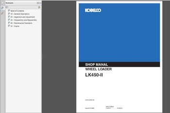 Kobelco Construction Machinery New Models Service Manuals 2019 new update 19.5GB