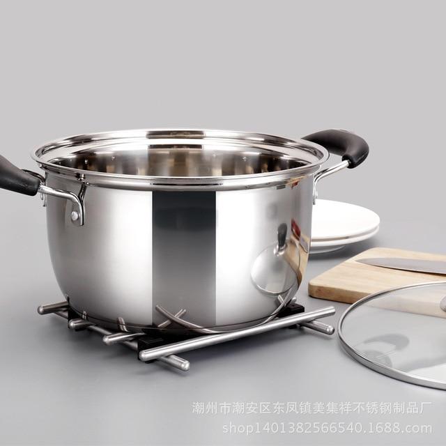 1pcs  Double Bottom Pot Soup Pot Nonmagnetic Cooking Pot Multi purpose Cookware Non stick Pan