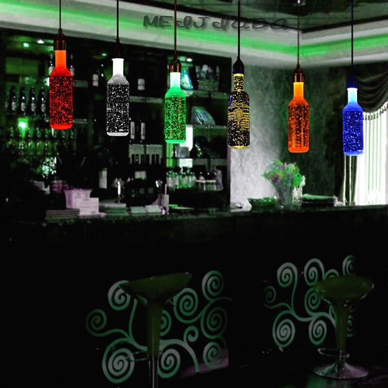 Z Moderna obeska za kristalno steklenico za vino, balonska svetilka - Notranja razsvetljava - Fotografija 2