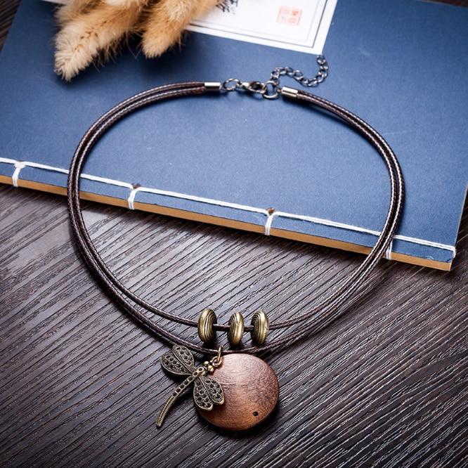 Fashion Choker Woman Ожерелье көне зергерлік - Сәндік зергерлік бұйымдар - фото 4