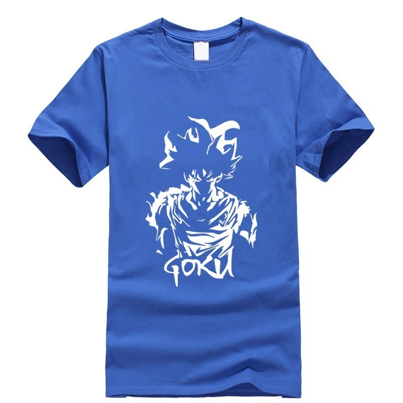 2019 new T shirt Print Dragon Ball Cool Japan Anime Cartoon Fashion Summer dress men tee Cotton cos play Cozy in T Shirts from Men 39 s Clothing