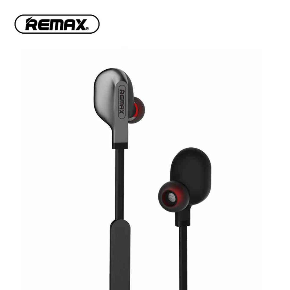 Remax RB-S18 Sport Bluetooth Earphone Stereo in Ear Headphones Magnetic  Headset Neckband Bluetooth Earphone c5233c43fc