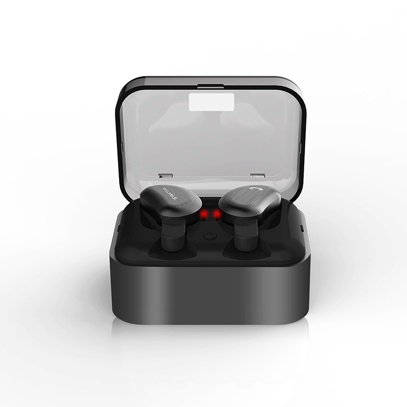 SYLLABLE D9 Wireless Earbud TWS Bluetooth Headset Metal Charge Case Bluetooth Earphone for Phone Mic for Calls IPX4 Waterproof remax mini bluetooth 4 1 earphone car calls wireless invisible head phone earbud noise canceling with mic for iphone mi phone