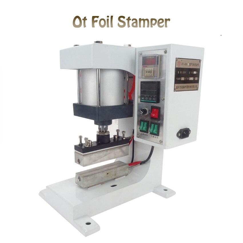 1 SET110V пневматические Bronzing машины, вторжения под бит машина отопление, кружева обработки, автоматическая золочение принципе