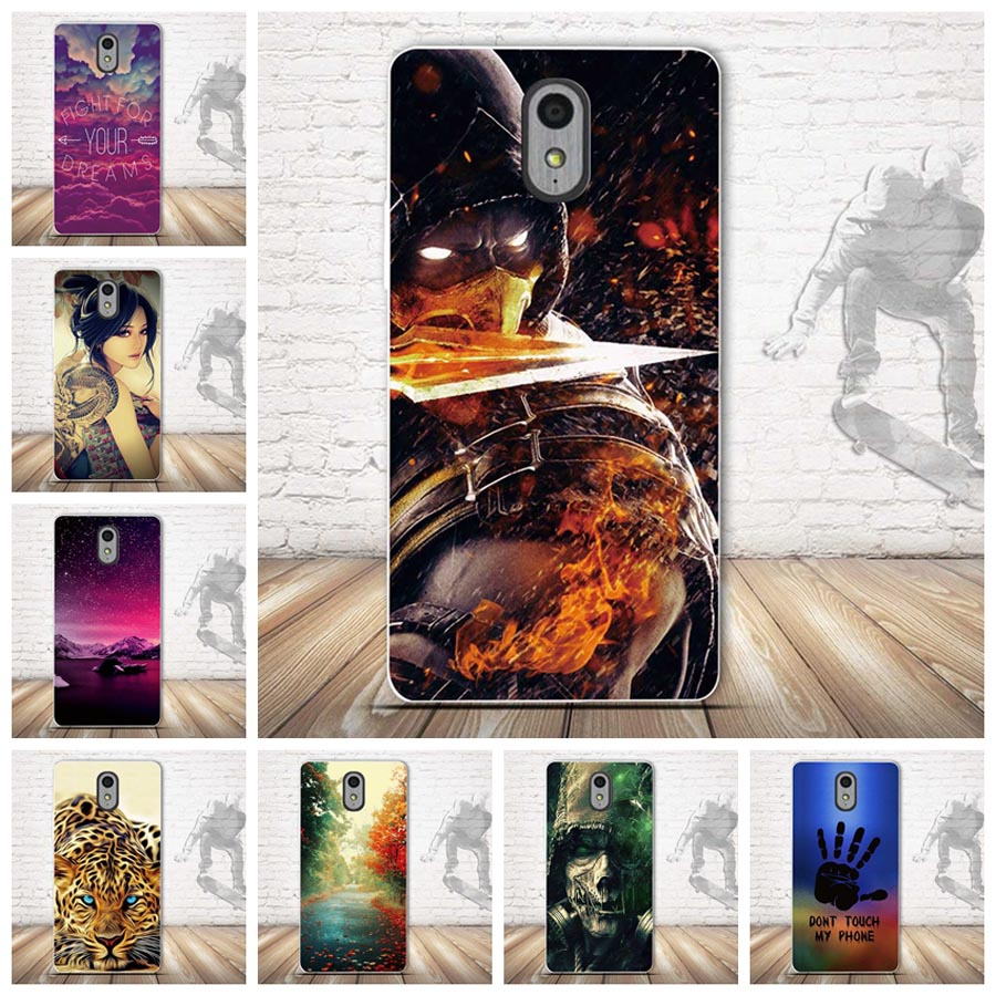 new product d92b3 9c01e Protection Cover Case For Lenovo Vibe P1M Painting Shells For Lenovo p1ma40  Soft Silicone Back Case Cover for Lenovo P 1M P1Ma40