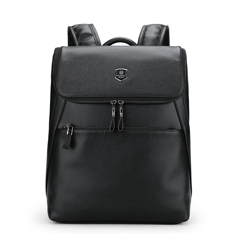 цены 2018 New Fashion Men Backpacks High Quality Pu Leather Male Korean Student Backpack Boy Business Laptop School Bag